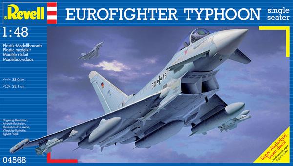 0 BN Ac Revell BAe Typhoon Single Seater 1.48
