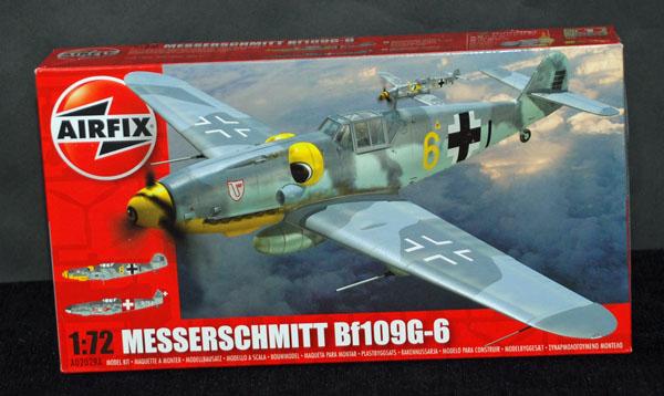 1 HN Ac Airfix-Messerschmitt Bf 109G6 1.72
