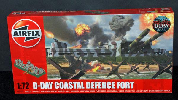 1 HN Ar Airfix D Day Coastal Defence Fort 1.72