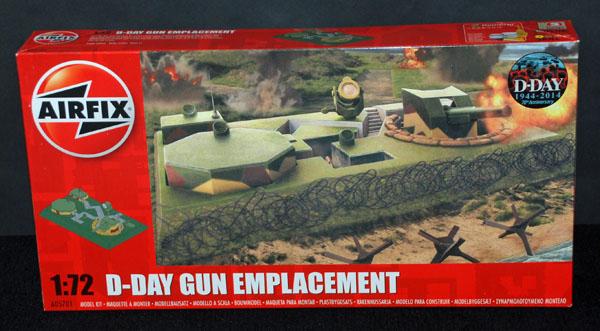 1 HN Ar Airfix D-Day Gun Emplacement 1.72