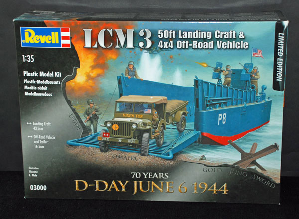 1-HN-Ma-Revell-LCM-3-Landing-Craft-and-Off-Road-Vehicle,-1.35