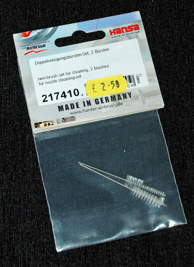 1 HN TM Hansa Airbrush nozzle cleaning set