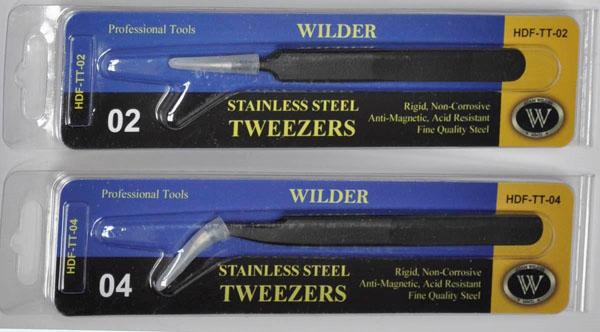 1 HN TM Wilder Stainless Steel Tweezers