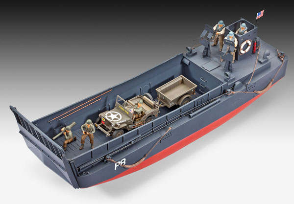 2-HN-Ma-Revell-LCM-3-Landing-Craft-and-Off-Road-Vehicle,-1.35