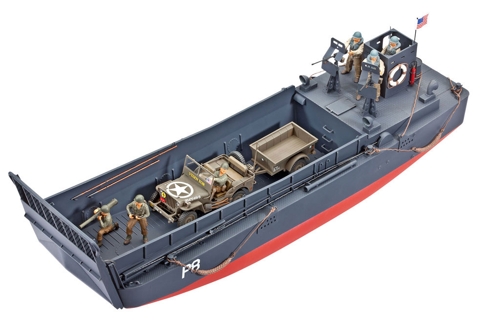 revell lcm 3 landing craft and off