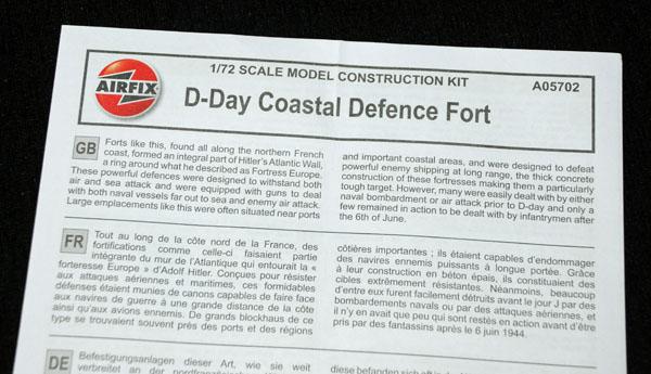 9 HN Ar Airfix D Day Coastal Defence Fort 1.72