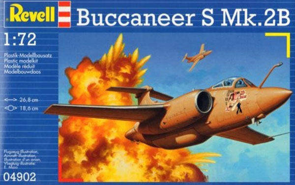 1 HN Ac Revell Buccaneer SMk2B 1.72
