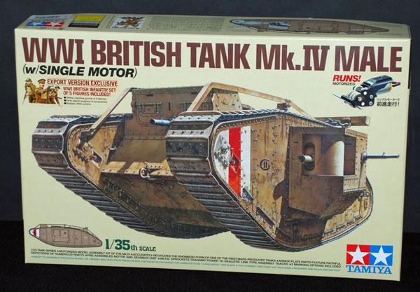 1-HN-Ar-Tamiya-WWI-British-Tank-MkIV-Male