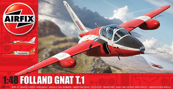 1a HN Ac Decals SM Decals Folland Gnat T1 1.48