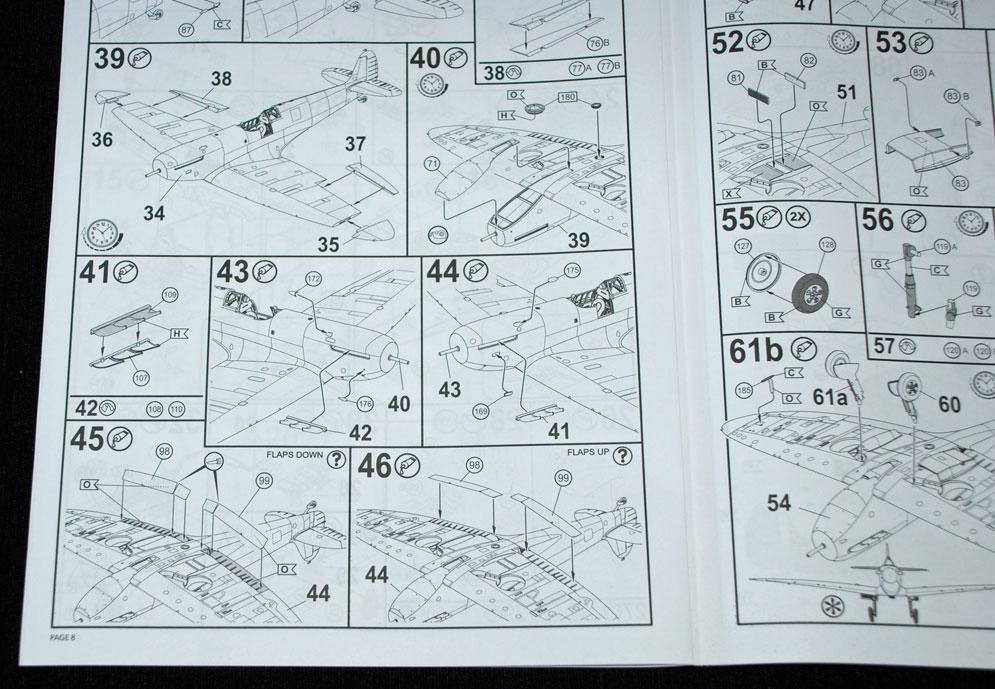 revell model kit instructions