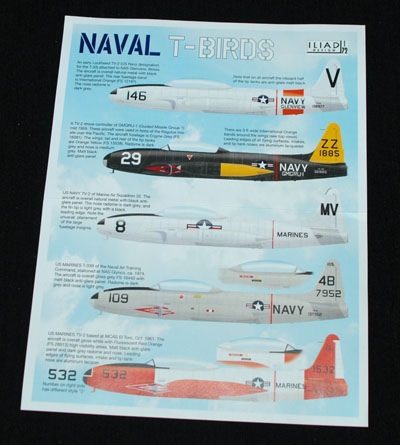 1 HN Ac Decals Iliad Design Naval T Birds 1.72