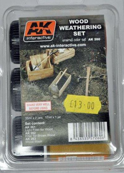 1 HN TM AKI Wood Weathering set