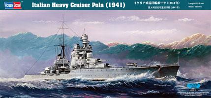 1 BN Ma HobbyBoss Italian Heavy Cruiser Pola 1.350 Pt1