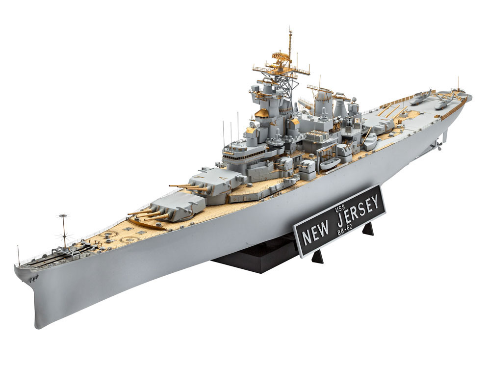 Revell US New Jersey BB-62 1:350 - Scale Modelling Now