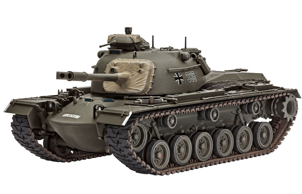 Revell M48a2 A2c 1 35 Scale Modelling Now