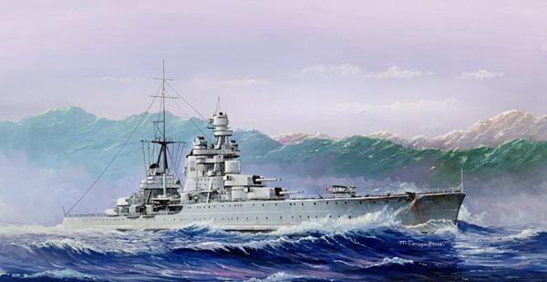 5 BN Ma HobbyBoss Italian Heavy Cruiser Pola 1.350 Pt1