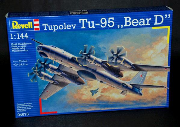 1 HN Ac kits Revell Tupolev Tu95 Bear D 1.144