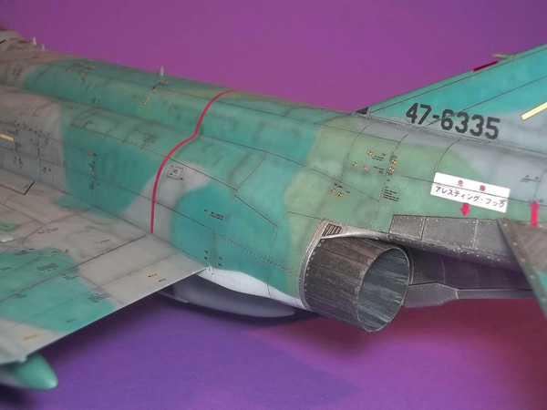 4 BN Ac Hasegawa RF4EJ Recon Phantom 1.48 Pt1
