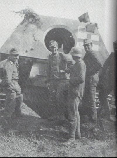 3 BR Ar Osprey Ferdinand and Elefant Tank Destroyer