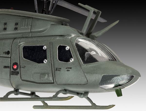 4 HN Ac Revell Bell OH58D Kiowa 1.72