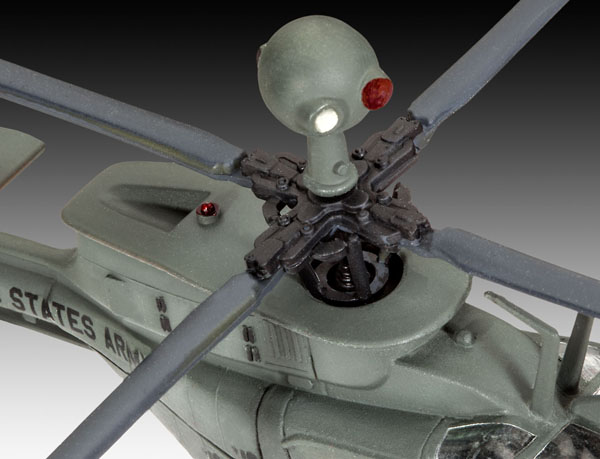 5 HN Ac Revell Bell OH58D Kiowa 1.72