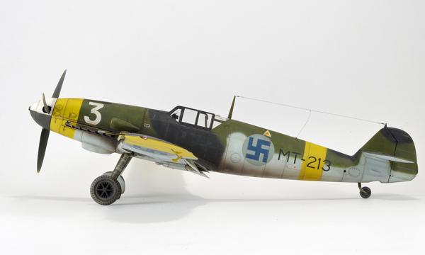 1 BN Ac Hasegawa Bf109G2 Finnish AF 1.32 Pt1