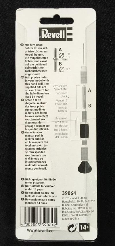 3 HN T Revell Hand Drill