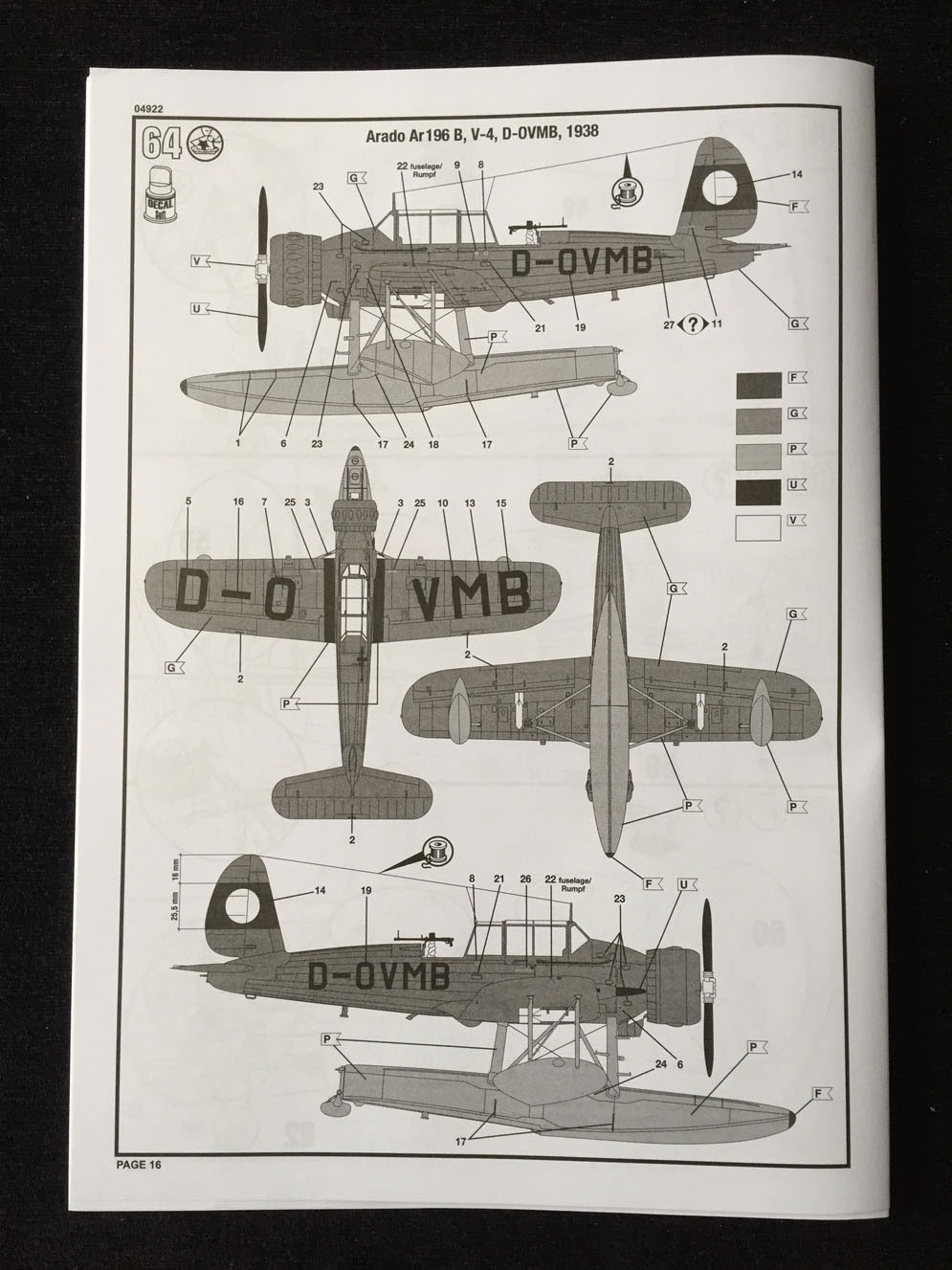 Revell Arado Ar 196B Seaplane 1:32 - Page 3 of 3 - Scale Modelling Now