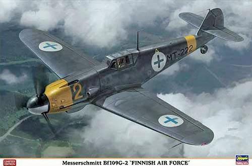 5 BN Ac Hasegawa Bf109G2 Finnish AF 1.32 Pt1