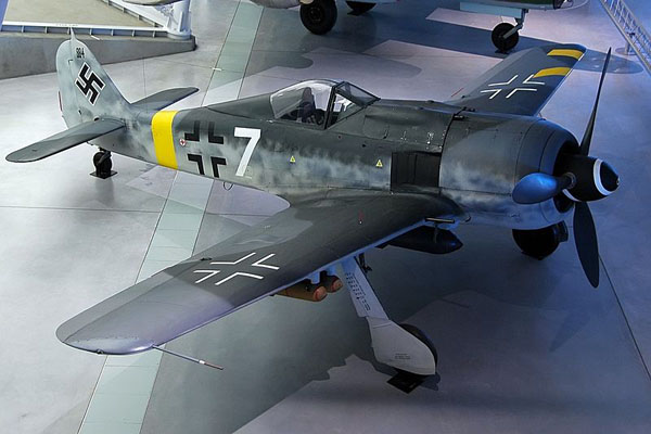 The National Air & Space Museum's restored Fw 190 F-8 in late war markings (courtesy of Kogo)