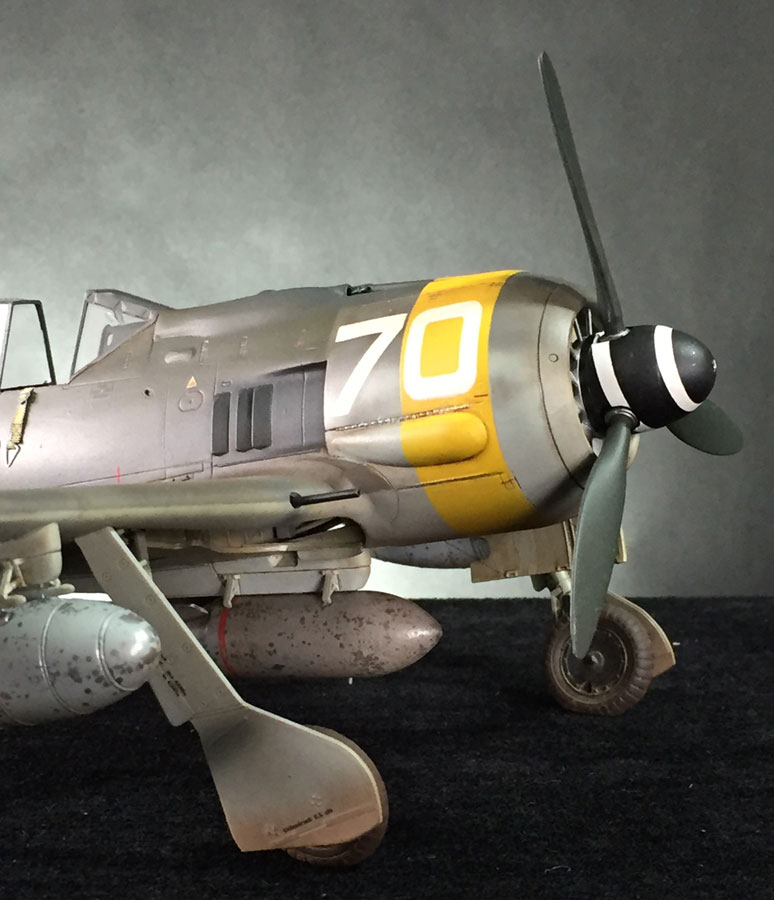 Revell Focke Wulf Fw190f 8 1 32 Build Review Scale