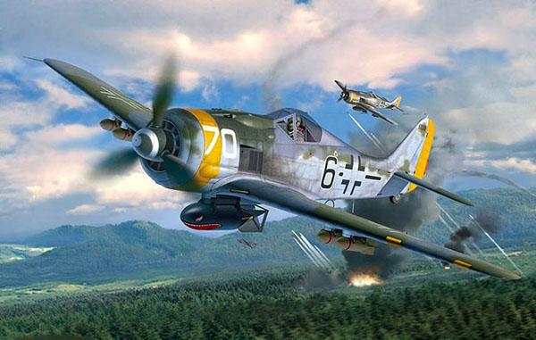 03 BN Ac Revell Focke Wulf Fw190F8 1.32 Pt1