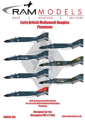 1 HN Ac Decals RAM Models British Phantoms Part1 1.48