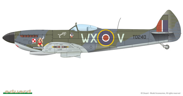 Eduard Spitfire Mk  XVI Limited Edition 1:48 In Box Review