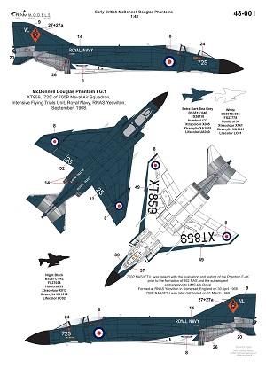4 HN Ac Decals RAM Models British Phantoms Part1 1.48