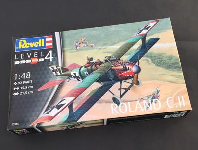 1 HN Ac Revell Roland C.II 1.48