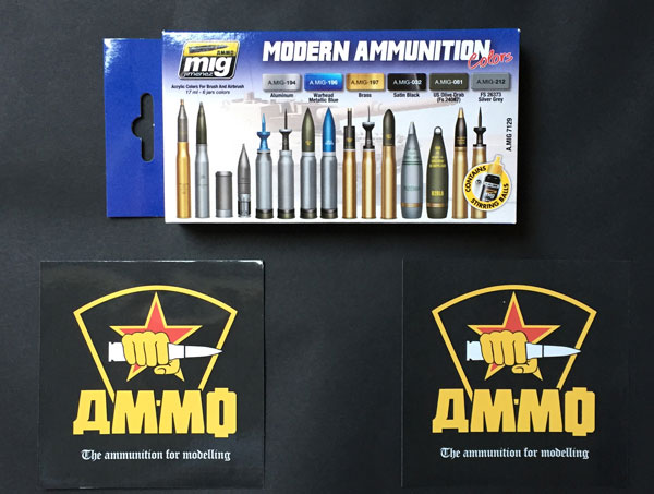 1-HN-Tools-AMMO-Ammunition-and-weapons-Acrylic-Paint-Sets