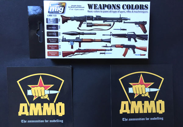 2-HN-Tools-AMMO-Ammunition-and-weapons-Acrylic-Paint-Sets