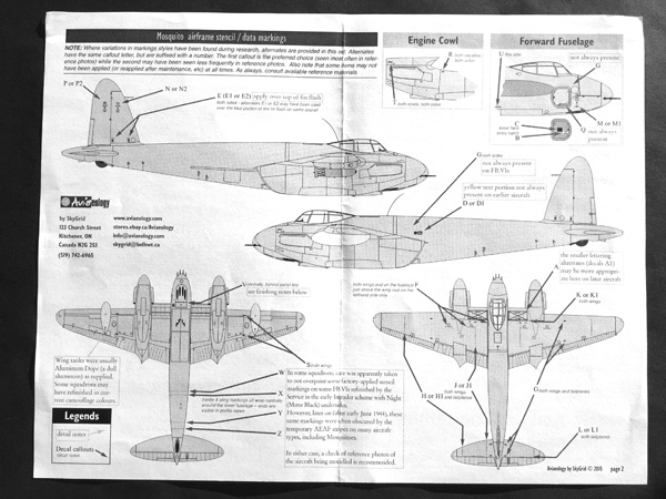 7 HN-Ac-Decals-Aviaeology-RCAF Mosquitoes and stencil data