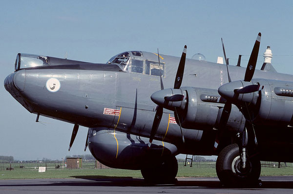 Avro 696 Shackleton AEW.2 WL790, Waddington (WTN / EGXW), UK - England - Courtesy of Mike Freer