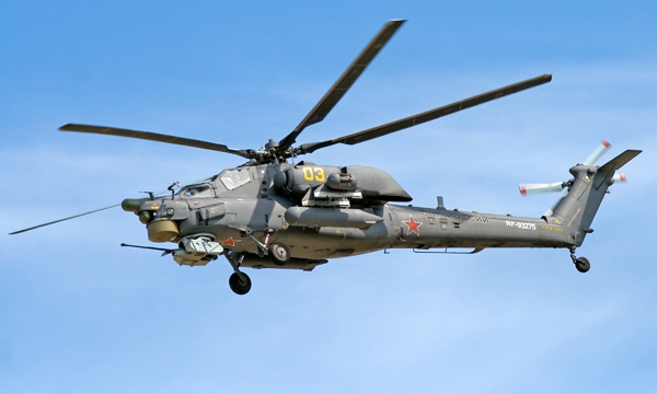Mil Mi 28 Havoc Russian Attack Helicopter