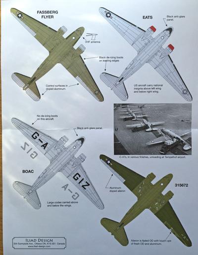2 HN-Ac-Decals-Iliad Design-Berlin Airlift C-47s 1.72