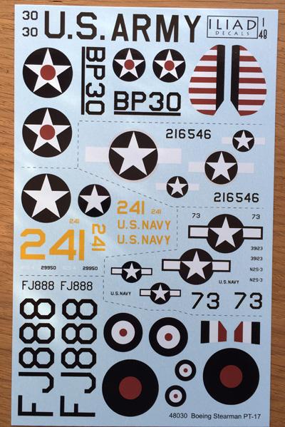 3 HN-Ac-Decals-Iliad Design-Stearman PT-17 1.48