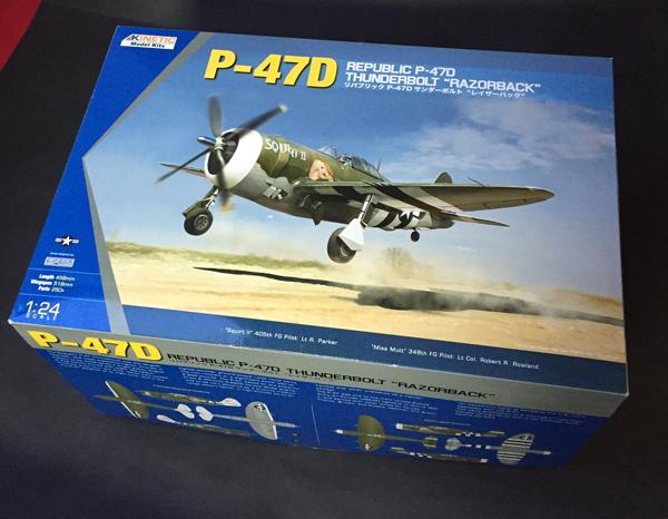 1 BN-Ac-Kinetic-P-47D Thunderbolt 'Razorback' 1.24 Pt1