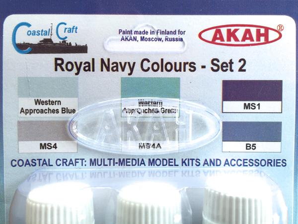 1 HN-TM-CC Akah-Royal Navy Colours - Set 2