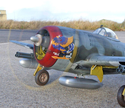 3 BN-Ac-Kinetic-P-47D Thunderbolt 'Razorback' 1.24 Pt1