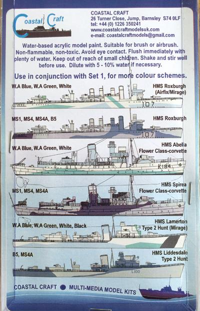 3 HN-TM-CC Akah-Royal Navy Colours - Set 2