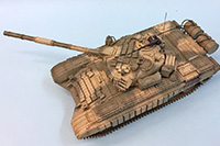 T-72B Russian Main Battle Tank 1:35