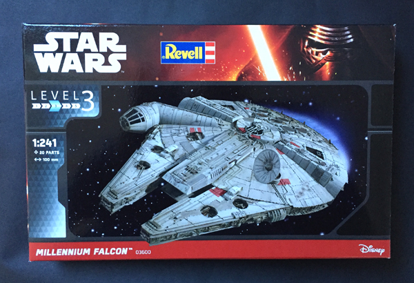 1 AC-Millenium Falcon-Star Wars-Revell- 1.241