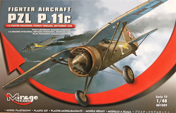 1 BN-Ac-Mirage Hobby-PZL P.IIc, 1.48 Pt1